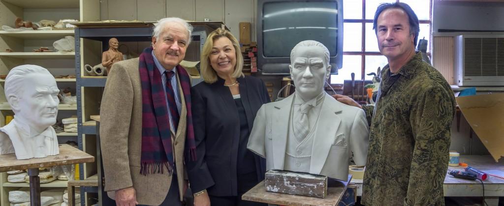 Jeffrey Hall's Ataturk Statue