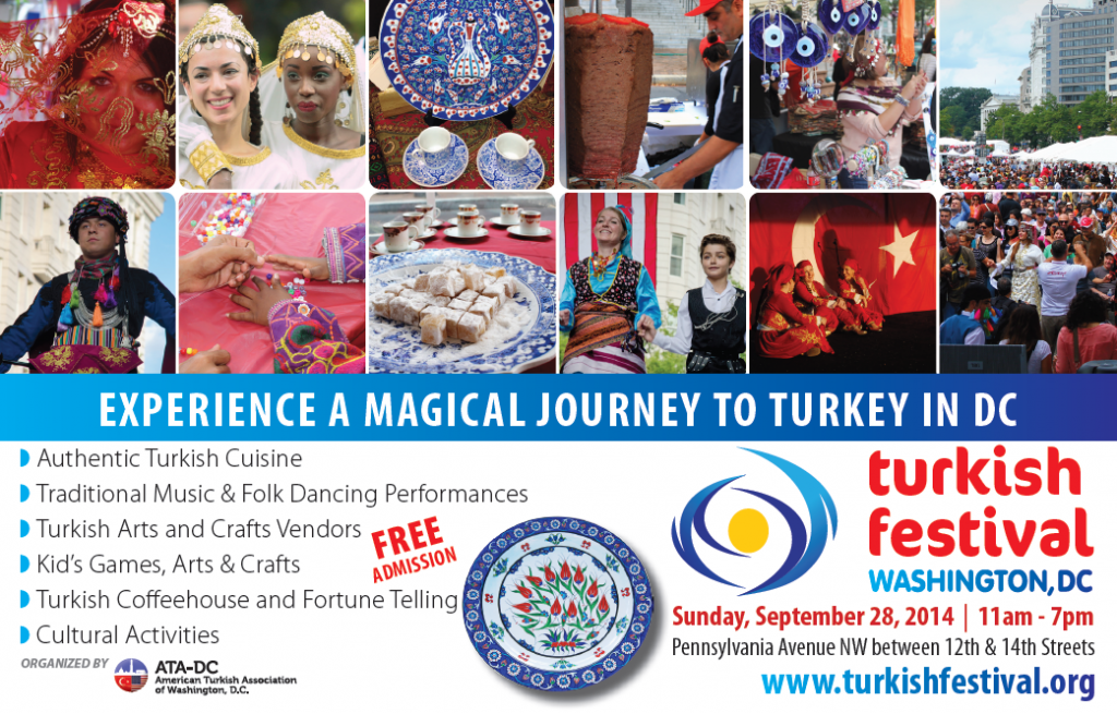 The 12th Annual Turkish Festival on Sunday, September 28, 2014.