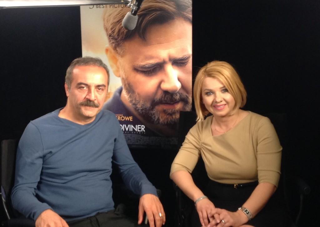 Yılmaz Erdoğan and TATV Host Özge Övün-Sert