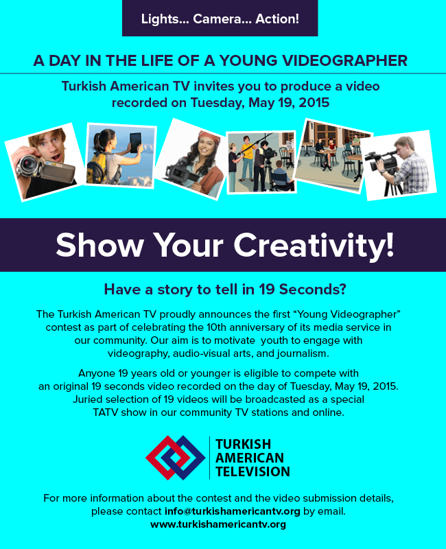 """A day in the life of a young videographer"" Video Contest"