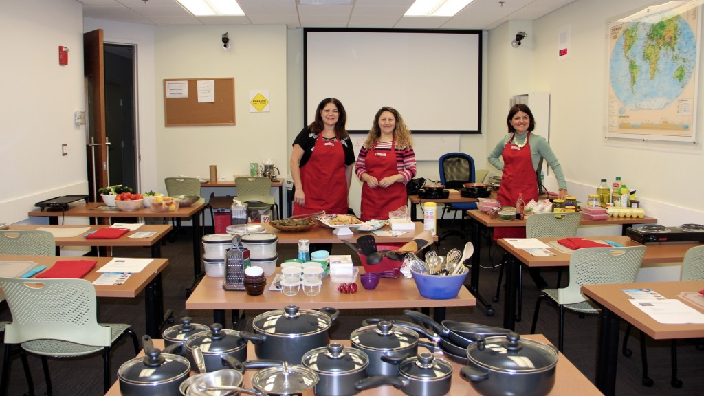 ATA-DC Turkish Culinary School Turkish Cuisine and Cooking Class Take 1: Sultan's Delight